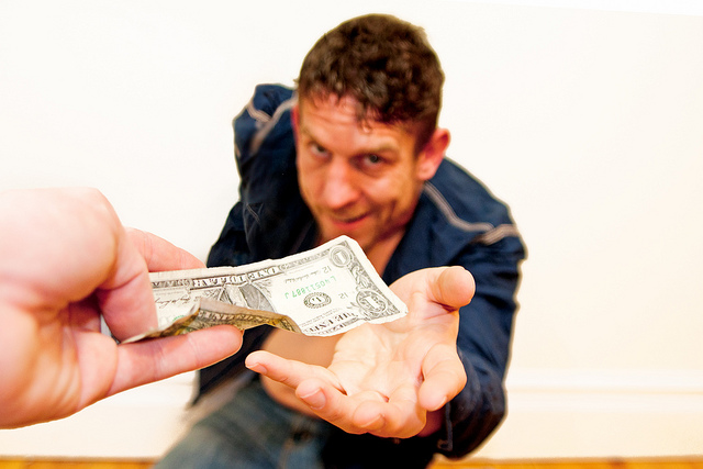 Image: A Fool and His Money by David Goehring via Flickr