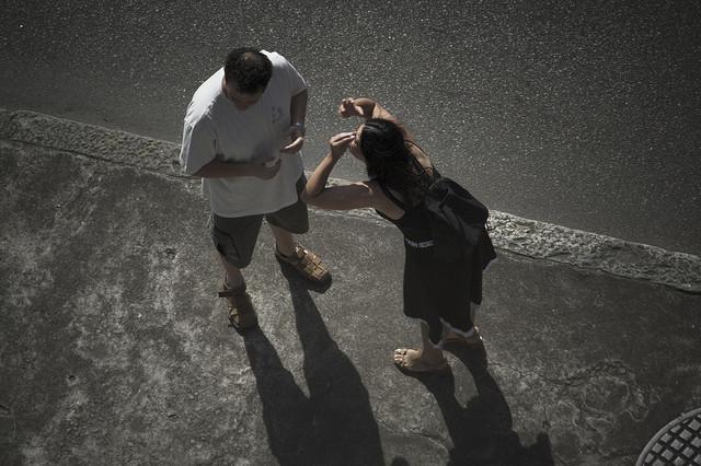 Image: Lover's quarrel by alex de carvalho via flickr