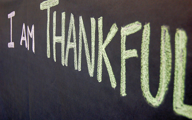 Image: Thankful by MTSOfan via Flickr