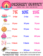 Dessert Buffet 2015 Details